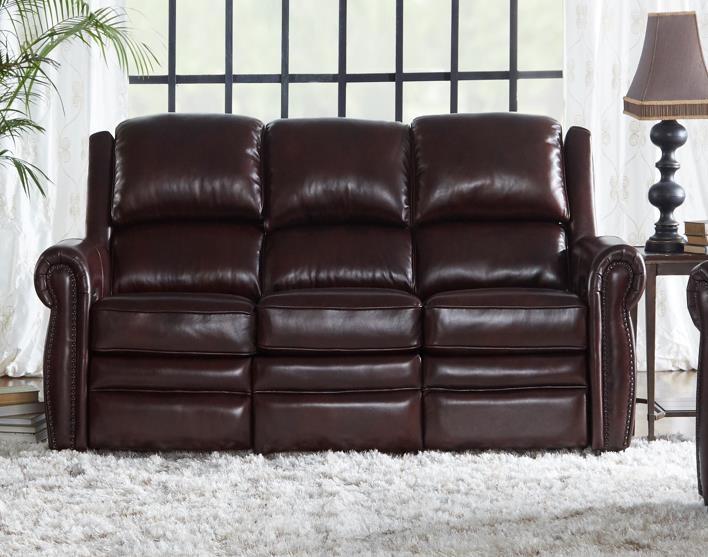Dual Power Recliner Sofa