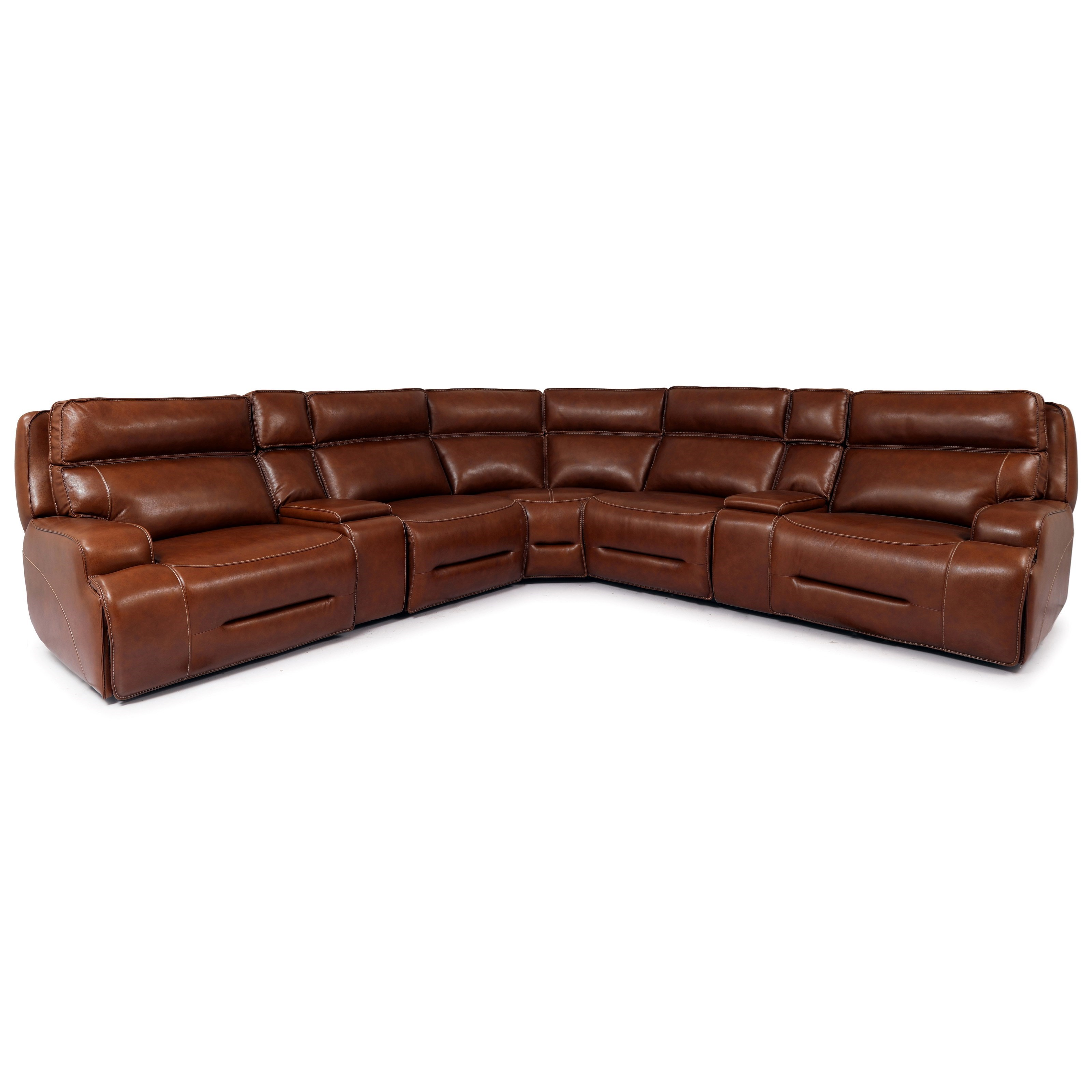 UC90029 Reclining Sectional by MW Home at Baer's Furniture