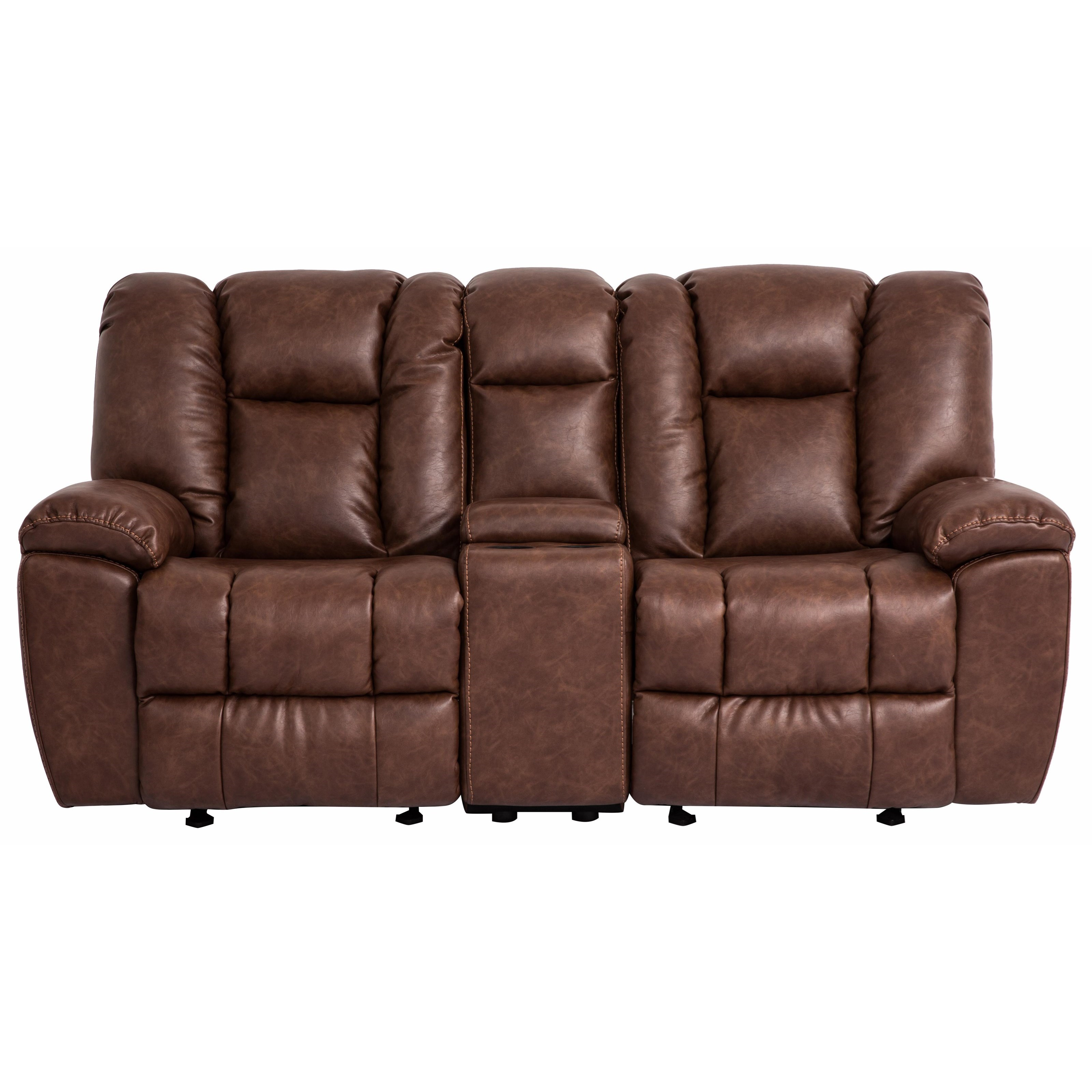 1017M Reclining Loveseat by Cheers Sofa at Lagniappe Home Store
