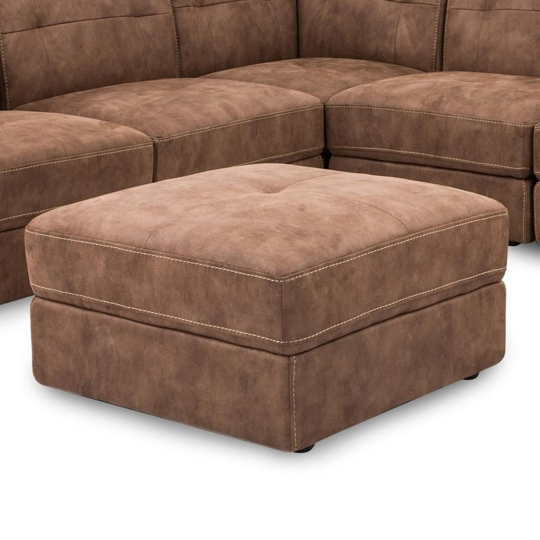 5157 Square Ottoman by Cheers Sofa at Lagniappe Home Store