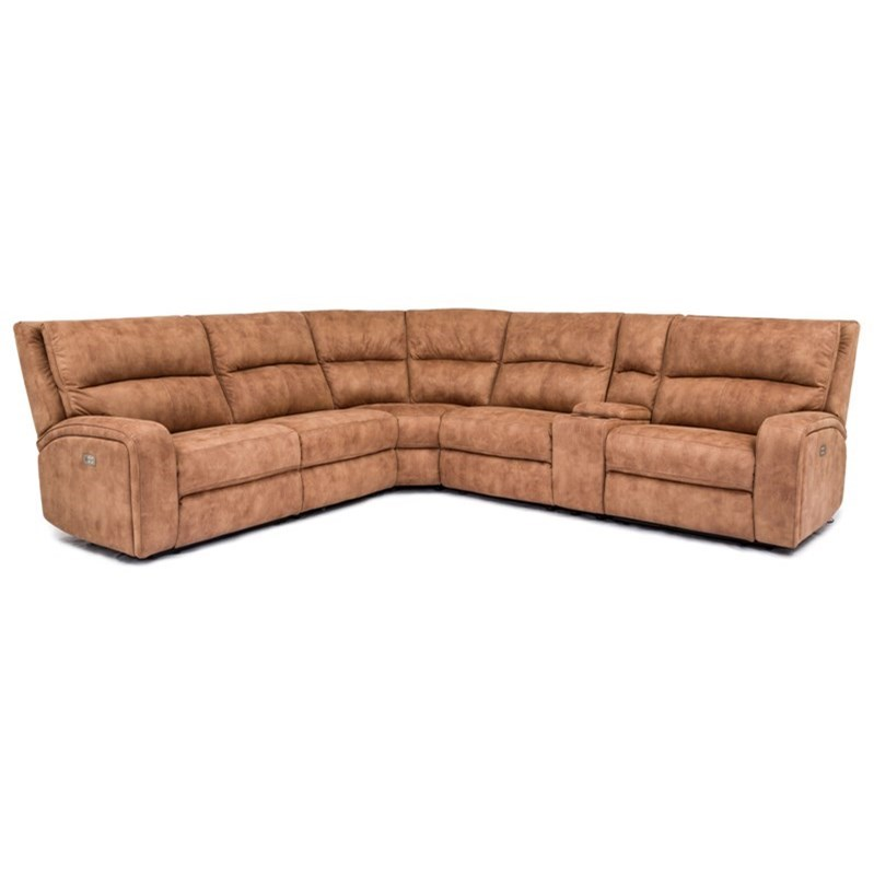 5168HM 6-Piece Power Reclining Sectional by Cheers at Lagniappe Home Store
