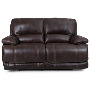 Dual Power Motion Loveseat with Power Headrests