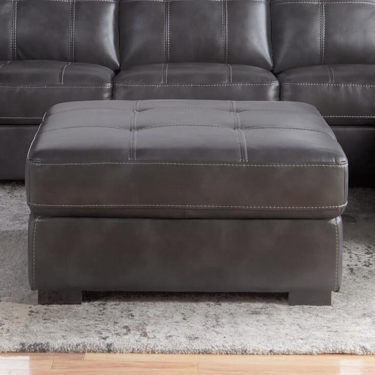 5312 Tufted Square Ottoman by Cheers Sofa at Lagniappe Home Store