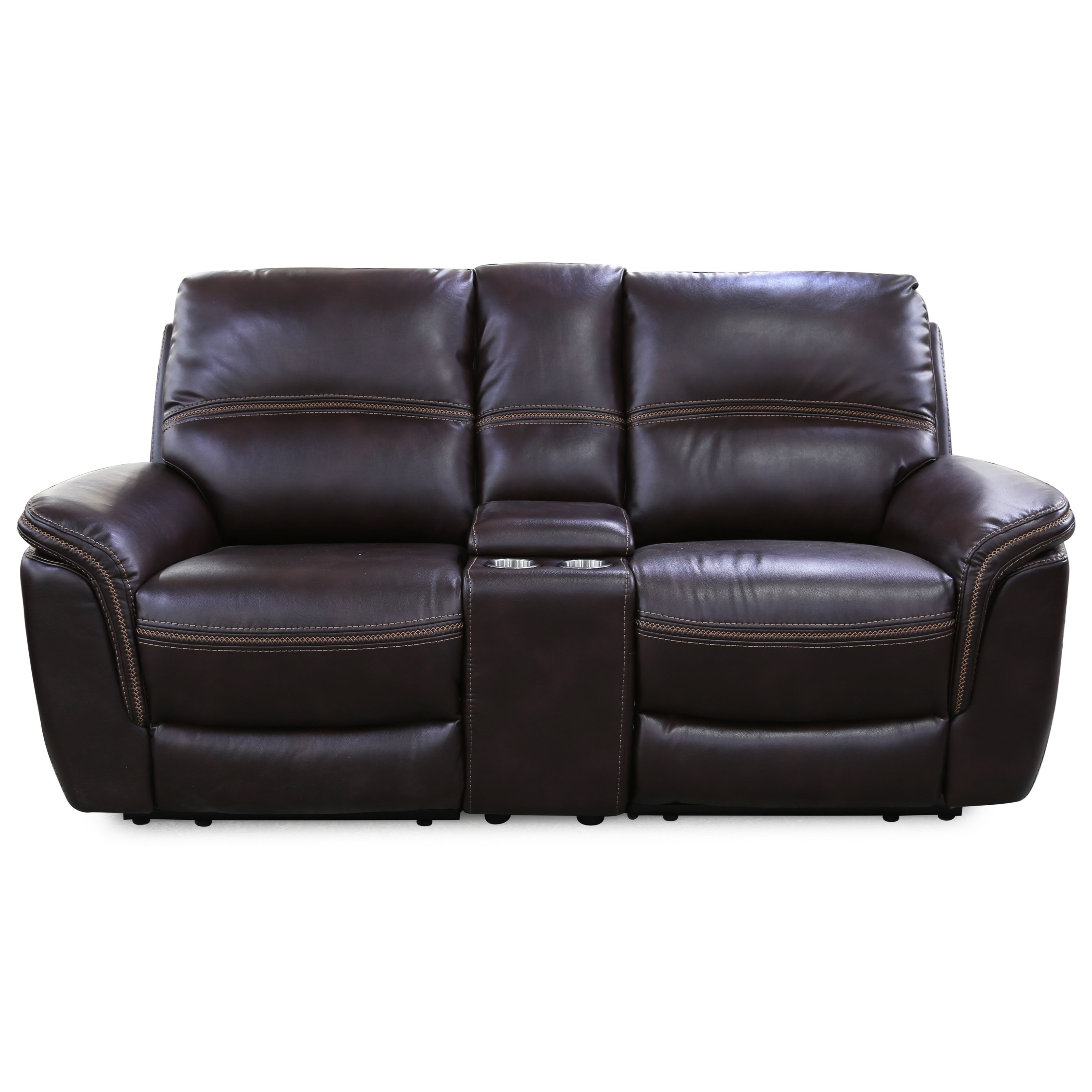 5571 Power Loveseat with Console by Cheers Sofa at Lagniappe Home Store