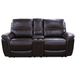 Cheers Sofa Townsend Power Loveseat with Console