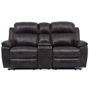 Reclining Loveseat with Power Lumbar, Headrest and Footrest
