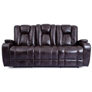 Power Reclining Sofa with Lights