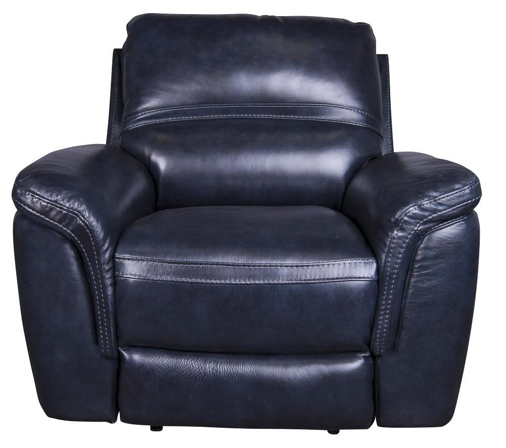 Leather-Match* Power Recliner with Power Headrest
