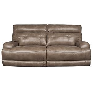 Modern Power Reclining Sofa with Power Headrest