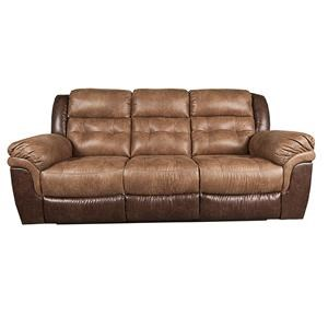 Traditional Reclining Sofa