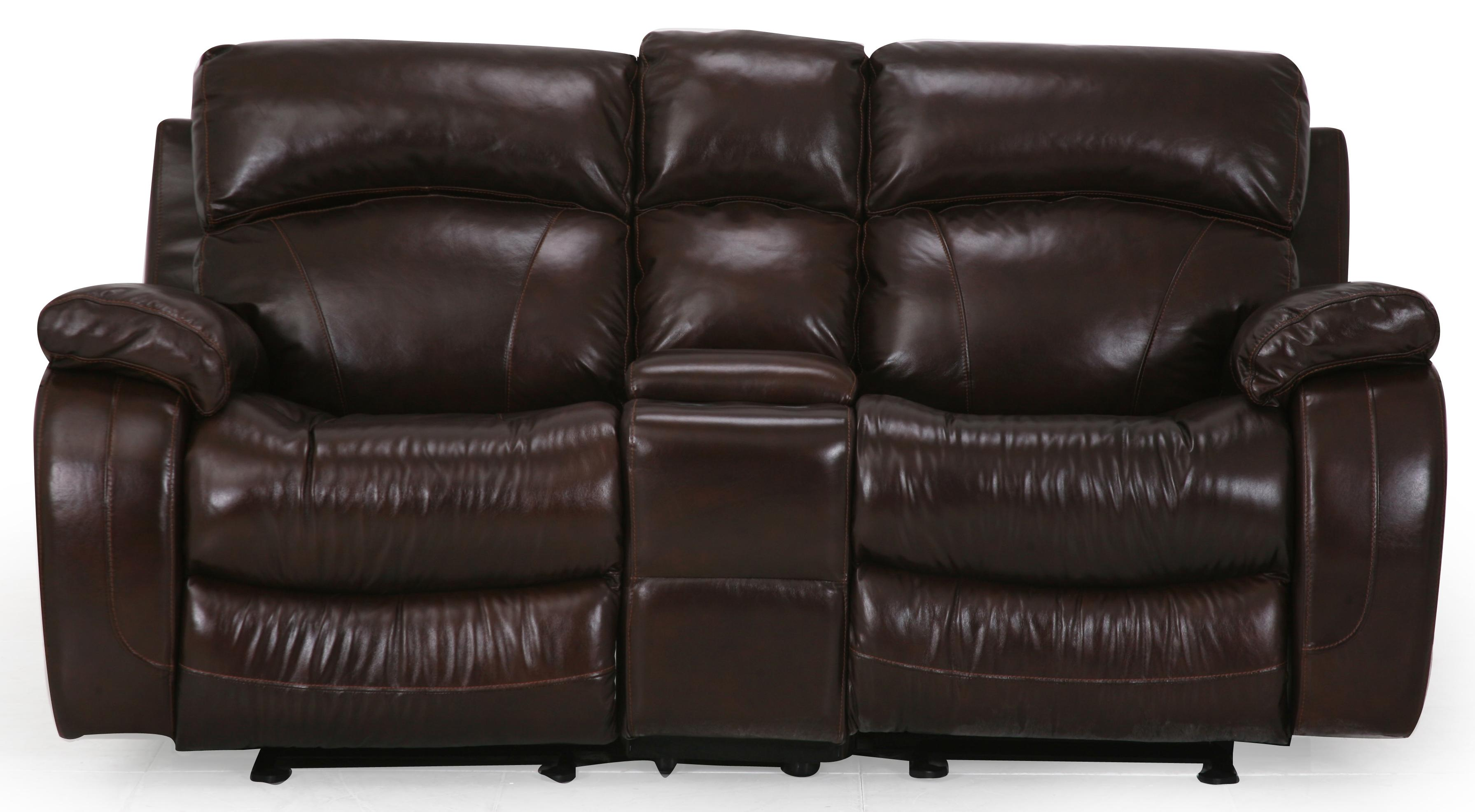 UXW8812M Reclining Console Loveseat by Cheers Sofa at Lagniappe Home Store
