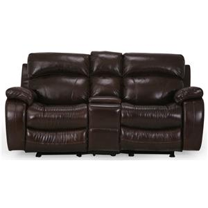 Cheers Sofa UXW8812M Reclining Console Loveseat