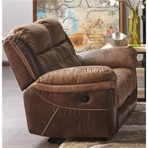 Dual Manual Motion Loveseat