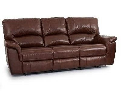 Leather Dual Reclining Sofa
