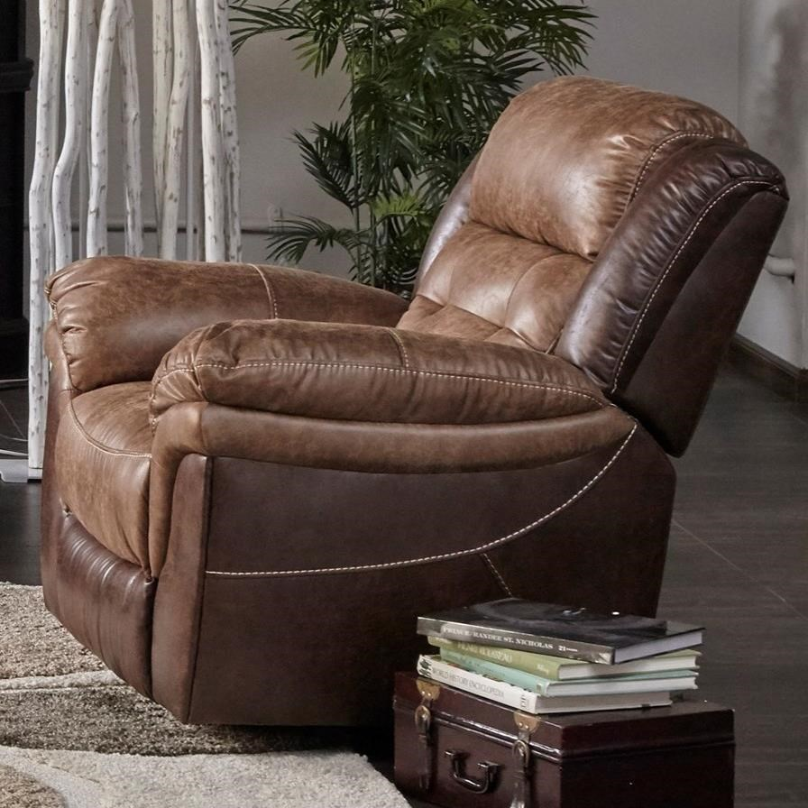 XW5156M Glider Recliner by MW Classics at Miller Waldrop Furniture and Decor