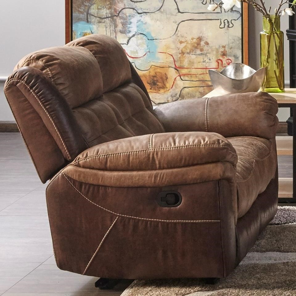 XW5156M Motion Loveseat by MW Classics at Miller Waldrop Furniture and Decor