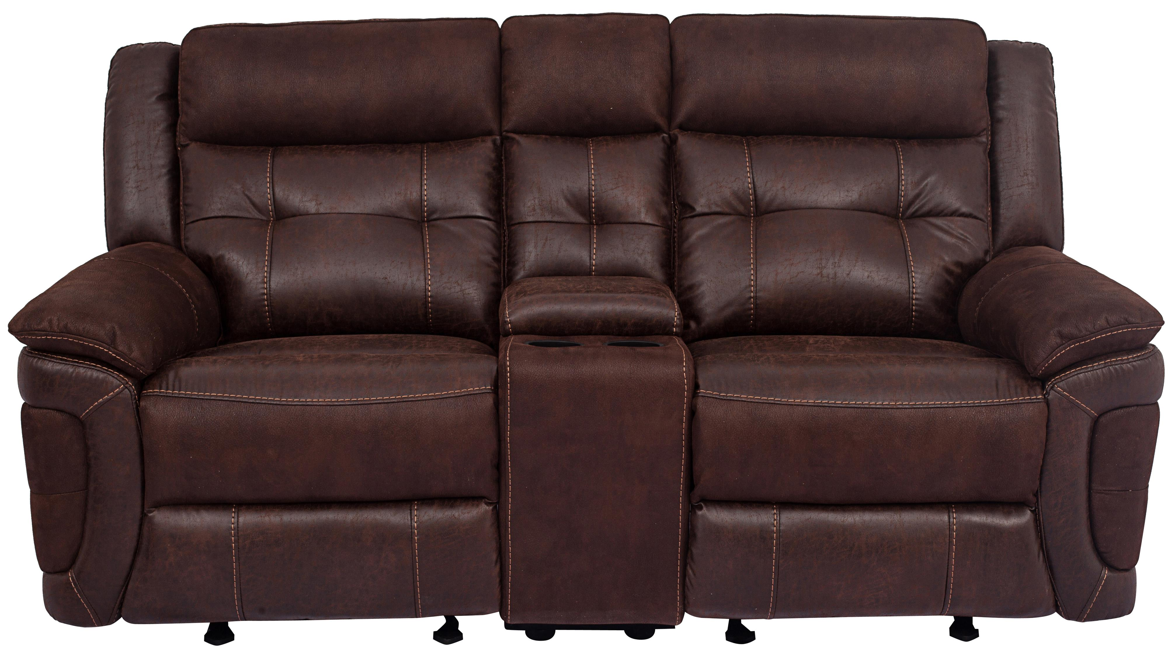 XW9827M Reclining Loveseat with Console by Cheers Sofa at Lagniappe Home Store