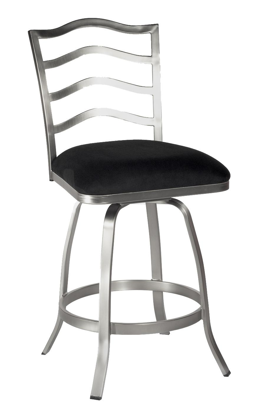 "0734 26"" Swivel Stool by Chintaly Imports at Dinette Depot"