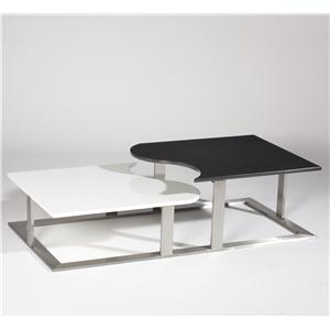 Black & White Cocktail Table