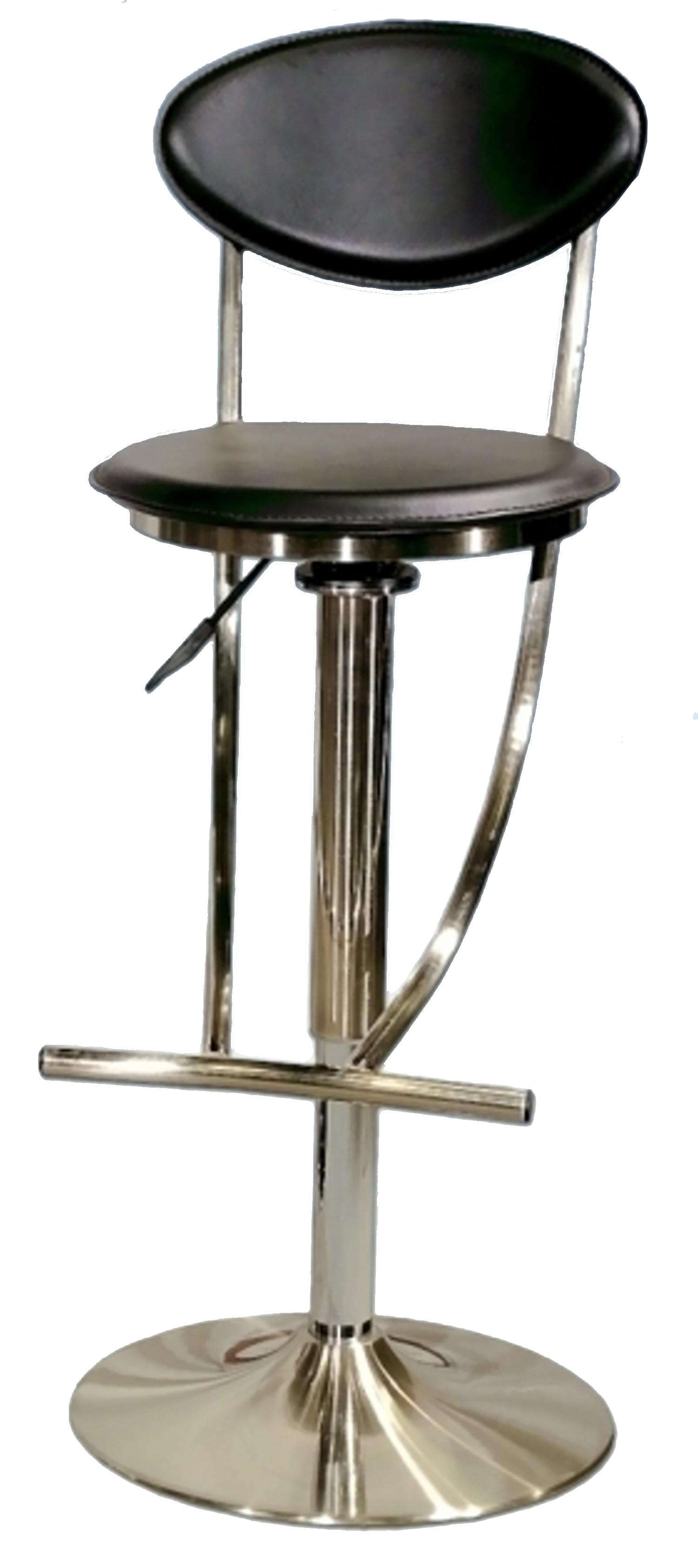 6000 Series Adjustable Height Swivel Stool by Chintaly Imports at Nassau Furniture and Mattress
