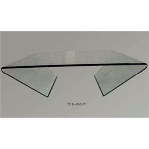 Glass Square Cocktail Table