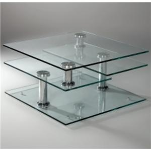 Contemporary Motion Cocktail Table