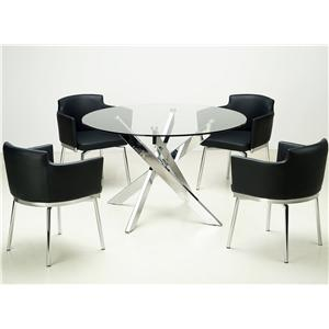 Chintaly Imports Dusty Table & Chair Set