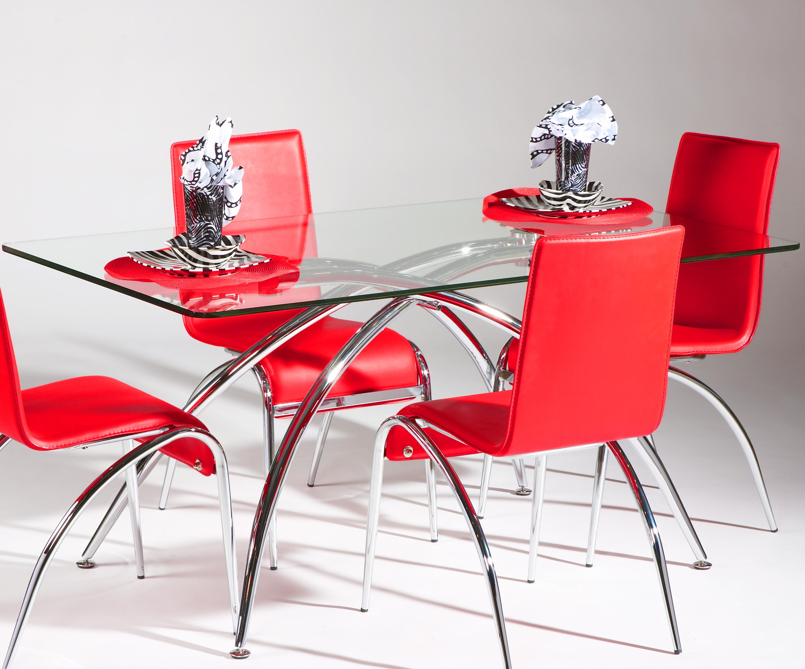 Elaine  Dining Table by Chintaly Imports at Corner Furniture