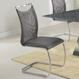 Meshed Back Cantilever Side Chair