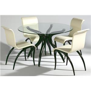 Chintaly Imports Judith Table and Chair Set