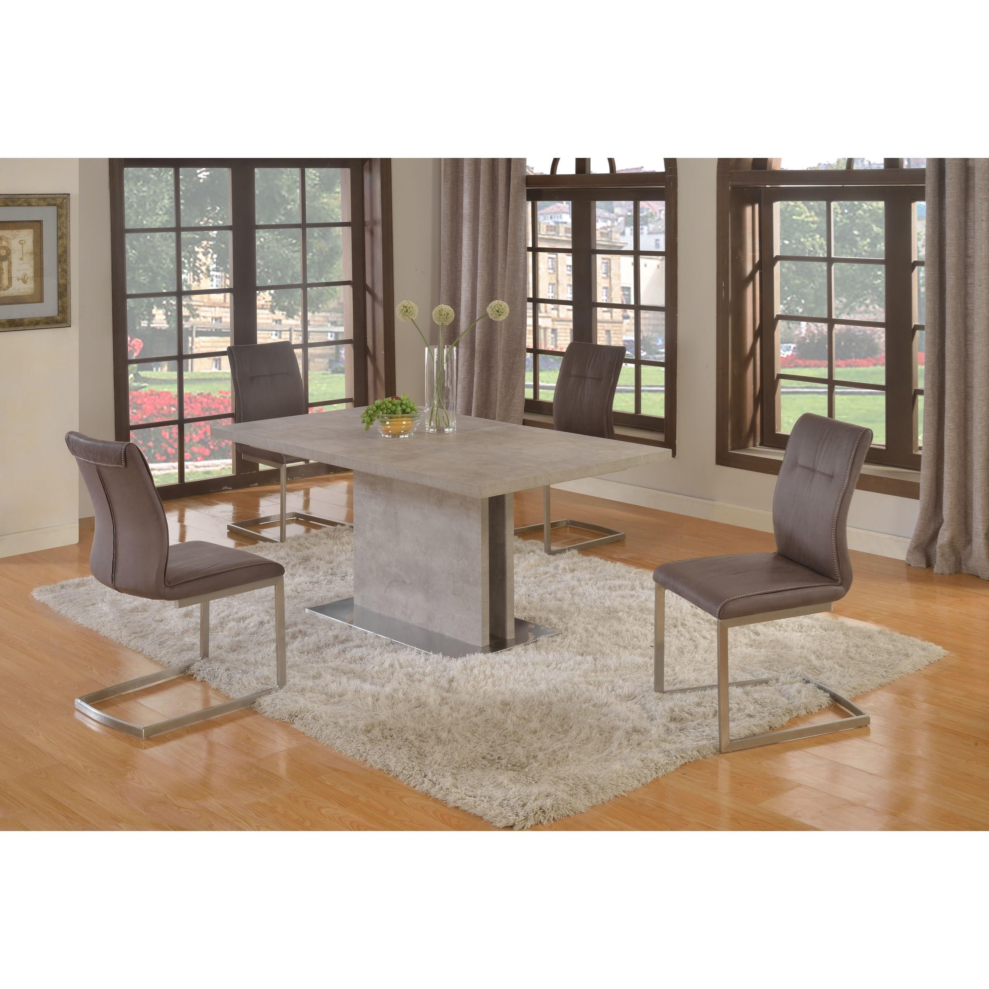 Kalinda 5 Piece Set by Chintaly Imports at Darvin Furniture