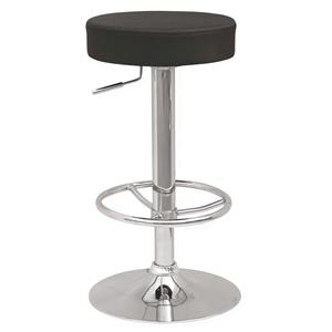 Backless Adjustable Stool with Colored Slip Covers