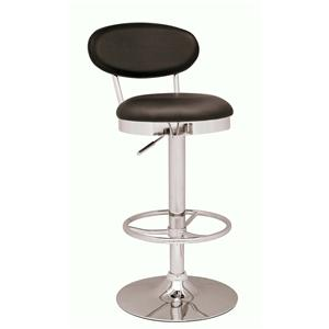 Adjustable Height Swivel Stool with Backrest