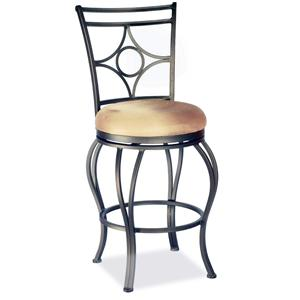 Counter Stool w/ Upholstered Seat