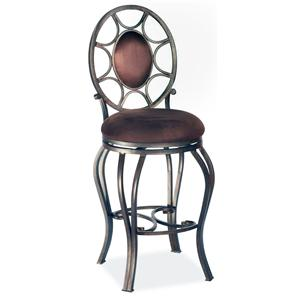 Bar Stool w/ Upholstered Seat
