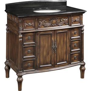 Classic Design Sink Vanities Victorian Single Vanity