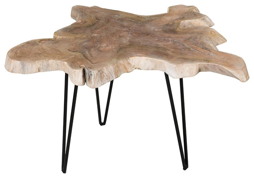 ALEXIS ALEXIS LARGE ACCENT TABLE by Classic Home at Esprit Decor Home Furnishings