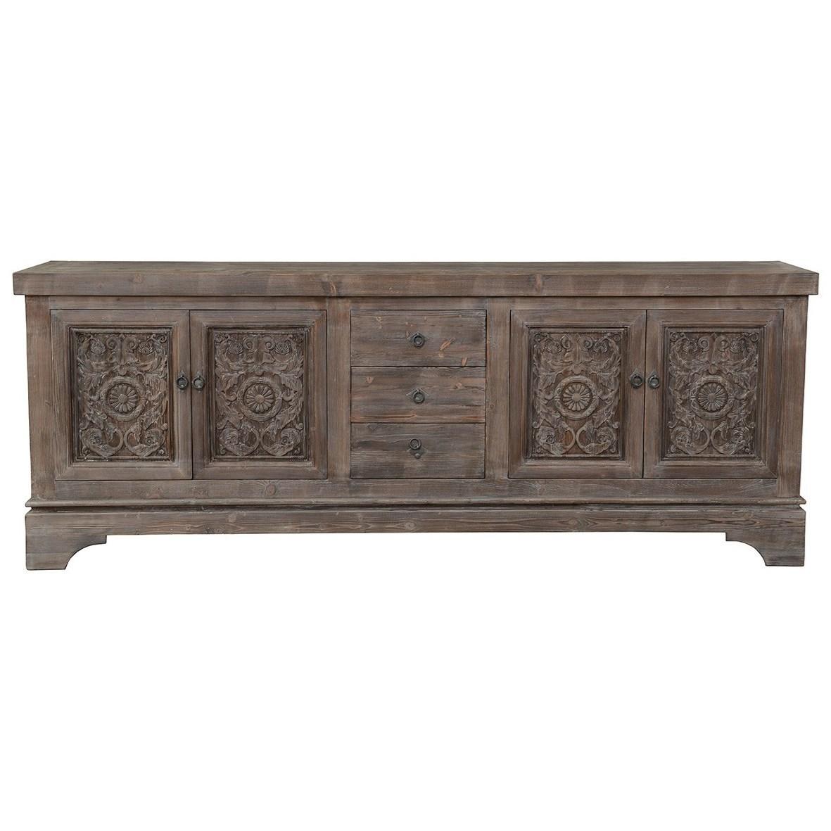 Amita Mocha Sideboard by Classic Home at Baer's Furniture