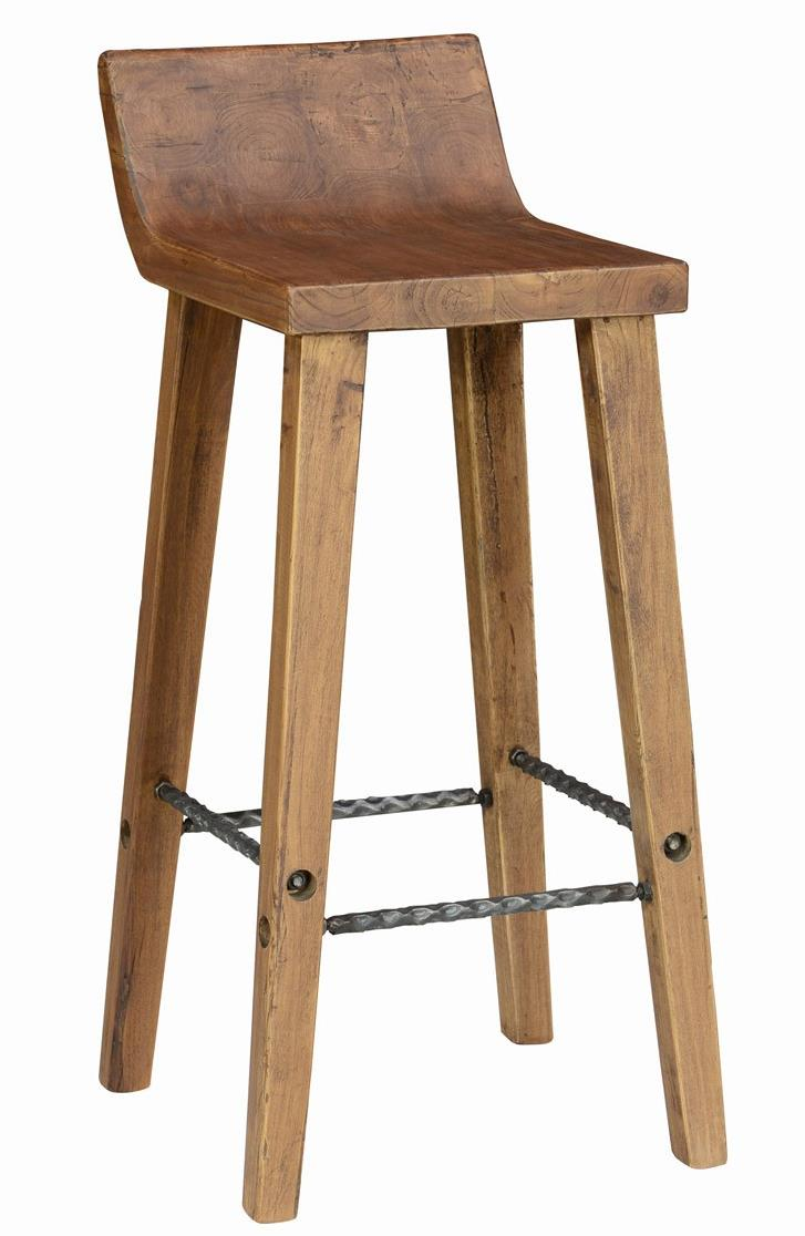 Arturo Low Back Bar Stool by Classic Home at Alison Craig Home Furnishings