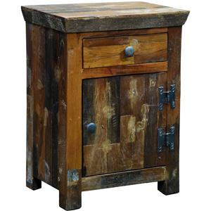 Sonoma Nightstand with One Drawer & One Door