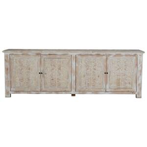 4 Door Reclaimed Pine Sideboard