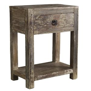 Classic Home Hampton  1 Drawer End Table