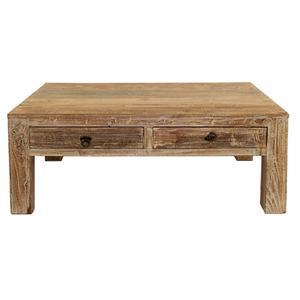 Classic Home Hampton  2 Drawer Coffee Table