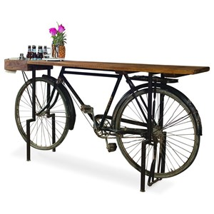 Bicycle Counter Console Table/Bar