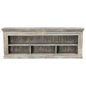 Mixed Reclaimed Wood Bookshelf
