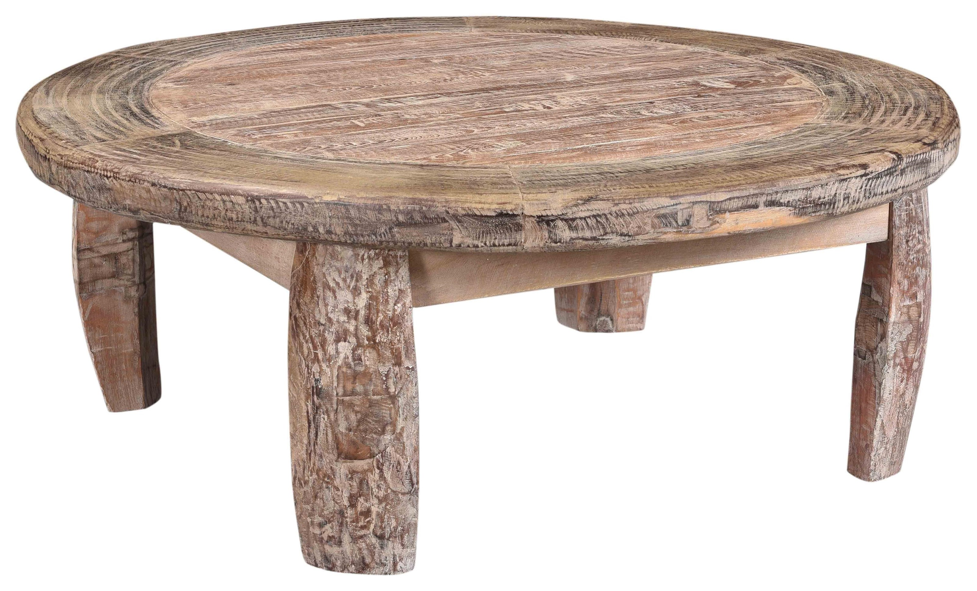 Some-of-a-Kinds Round Coffee Table by Classic Home at Baer's Furniture