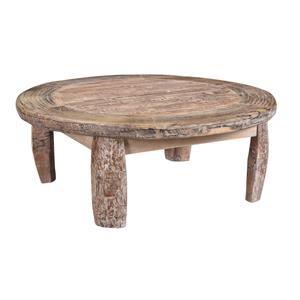 Wheel Round Coffee Table