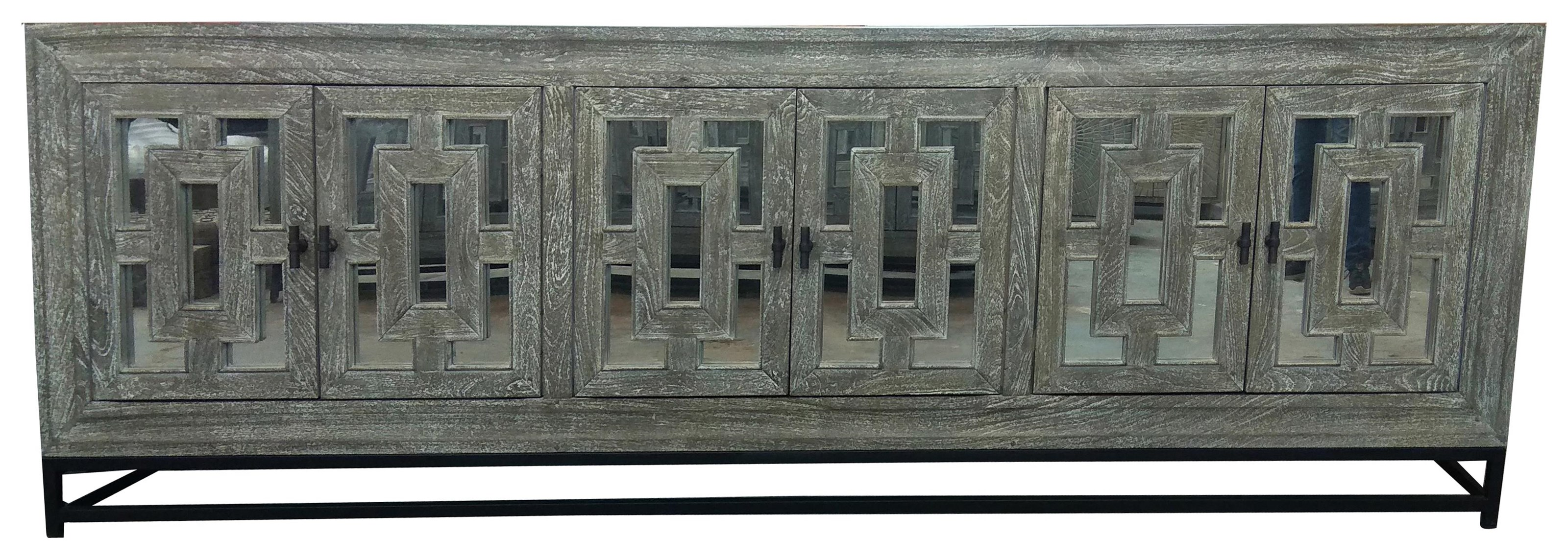 Some-of-a-Kinds Six Door Sideboard by Classic Home at Baer's Furniture