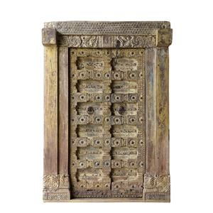 One of a Kind Double Door W/Frame