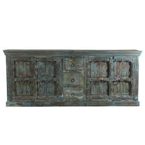 One of a Kind Buffet with Drawers and Doors